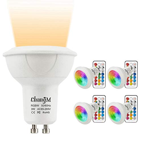 Gu10 Led Light Bulb Energy Saving 3W Warm White in US - 5