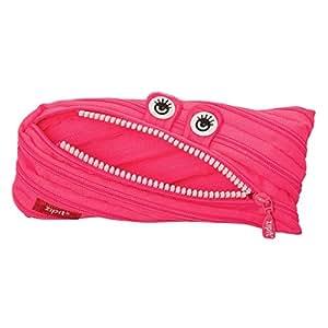 ZIPIT Monster - Estuche para lápices, color rosa: Amazon.es ...
