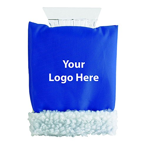 Ice Scraper Hand Mitten - 50 Quantity - $5.20 Each - PROMOTIONAL PRODUCT / BULK / BRANDED with YOUR LOGO / CUSTOMIZED by Sunrise Identity