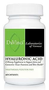 DaVinci Labs Hyaluronic Acid, 60 capsules