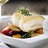 Wild Alaskan Halibut, 10 lbs Fresh Fish Frozen 8 oz. X 20 Portions Individually & Vacuum Packaged
