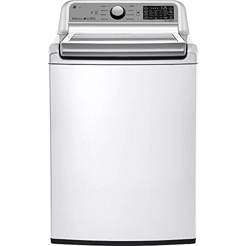 LG WT7200CW 5.0 cu.ft. Mega Capacity Top Load Washer in Whit