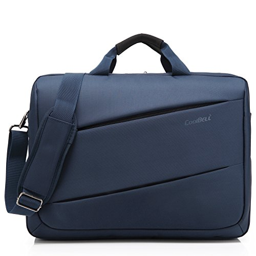 CoolBELL 17.3 inch Laptop Messenger Bag Multi-functional ...