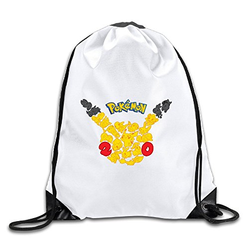 Coreco Pokemon Drawstring Backpack Sack Bag