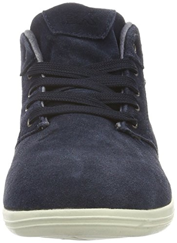02 Copal Bleu Mid Homme British Knights Basses Baskets Navy TRF8Fq