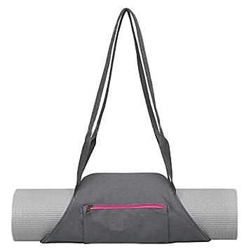 Yoga Mat Carrier, gfuny Yoga Tote bolso bandolera Sling Back ...