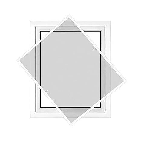 JAROLIFT Insektenschutz Spannrahmen Profi Line Fur Fenster Rahmengrosse 100cm X 150cm Weiss
