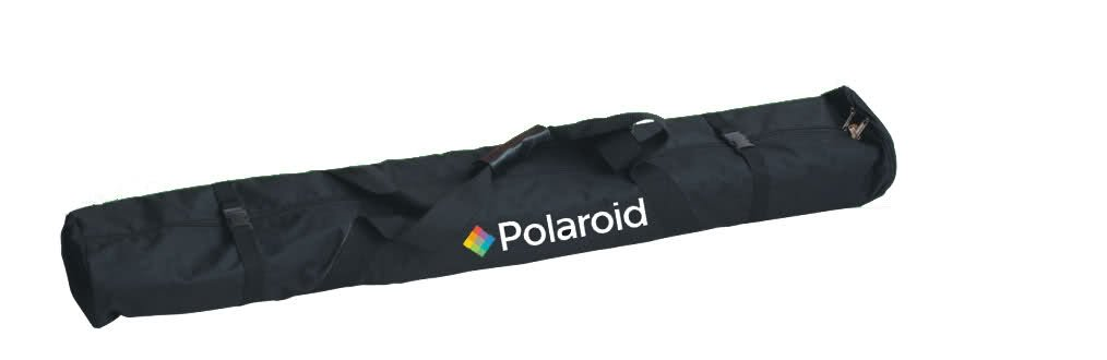 Polaroid Pro Studio 8' Air-Cushioned Heavy Duty Light Stand - Boom & Universal Reflector Holder + Deluxe Pro Carrying Case by Polaroid