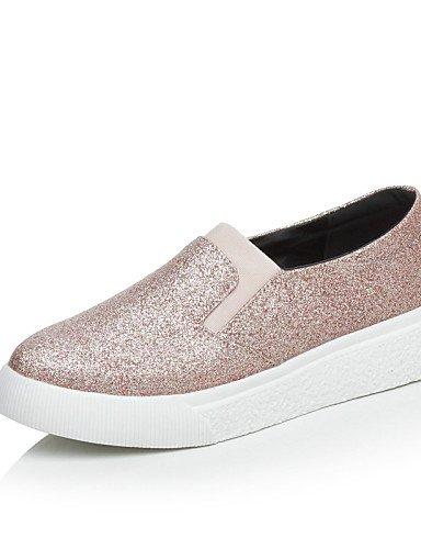Zapatos Plataforma Punta us10 Mocasines Redonda eu42 Negro Purpurina uk8 silver 5 5 us10 us10 uk8 Plata eu42 gyht 5 5 eu42 cn43 mujer cn43 ZQ silver Rosa de cn43 5 uk8 Casual 5 silver 1w5x0IqxX