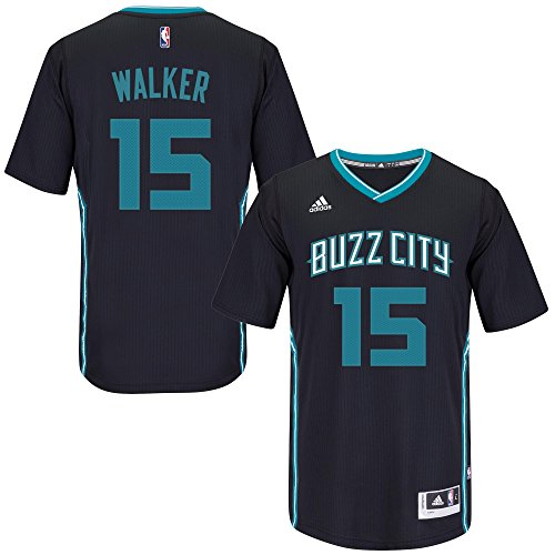 uk availability 4ac53 6b14d OuterStuff Kemba Walker Charlotte Hornets #15 Black Youth ...