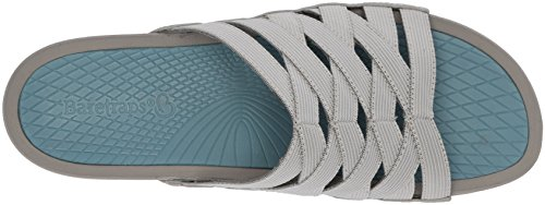 Baretraps Slide Beverly Sandal Grey Women's rzxEOq6rw