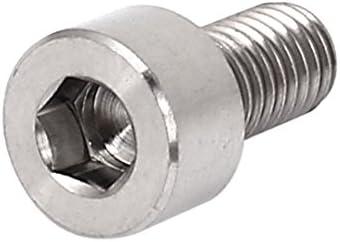 uxcell 六角穴付ボルト TC4チタン材質 DIN912ねじ MTBバイクヘックスボルト15mmロング