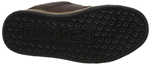 Globe Scribe, Zapatillas de Skateboarding Unisex Adulto Marrón (Brown / Tobacco)