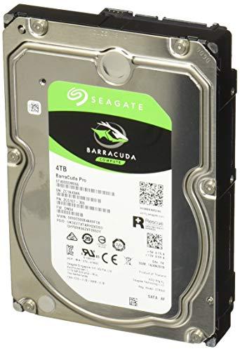 Seagate BarraCuda Pro 4TB Internal Hard Drive Performance HDD – 3.5 Inch SATA 6 Gb/s 7200 RPM 128MB Cache for Computer…