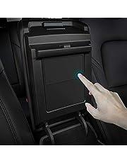 TAPTES Tesla Model 3 Model Y Center Console Organizer, Armrest Hidden Storage Box for Tesla Model 3 Model Y Accessories