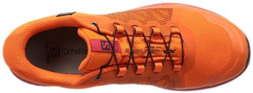 Salomon Uomini Xa Elevare Gtx Trail Running Scarpe, Nero, 49,3 Eu Multicolore (scarlet Ibis / Barbados Ciliegia / Nero 000)