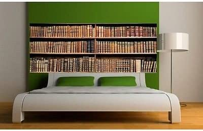 Papel pintado cabecero de cama Biblioteca 3664, 200 x 78 cm ...