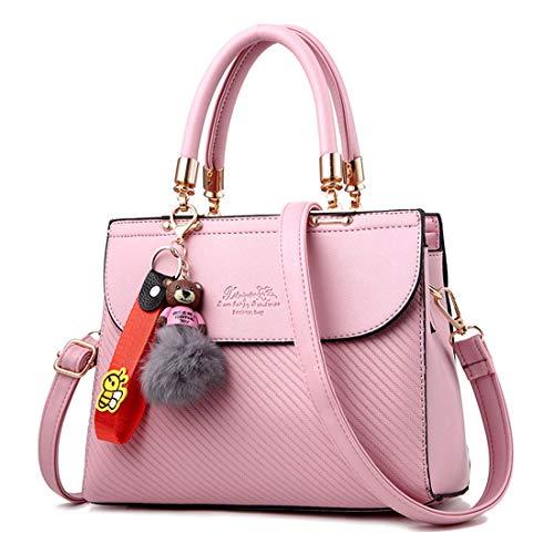 Pink Bolsa Línea Black Salvaje Mensajero Hombro 2 Gran Bolsos gTqqfA6Y0