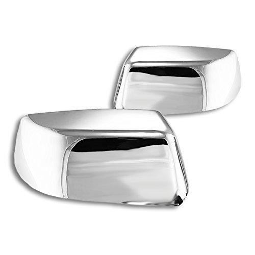 ABS Plastic Top Half Mirror Cover Cap Trim Chrome Finish Fits 14-16 Yukon Tahoe Suburban