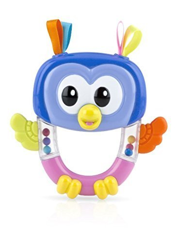 Nuby Rattle Pals Teether Toy