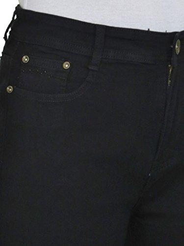56 Vita Con 46 Plus Diamante Stretch Tasca Size Alta Jeans 0vxEqS
