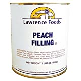 Whole Peach Fruit Filling, no. 10 can -- 6 per case