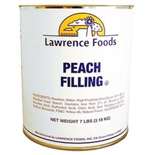 Whole Peach Fruit Filling, no. 10 can -- 6 per case by Lawrence Foods