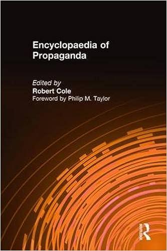 Book Encyclopaedia of Propaganda (Sharpe Reference S.)
