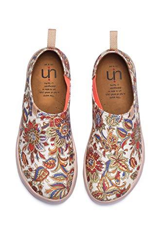 Da Girl Uin Blossom Multicolor Love Printed Monacan Scarpe Passeggio Canvas 5HAWwvqBaA