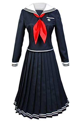 UU-Style Danganronpa Toko Fukawa Cosplay Costume High School Uniform Skirt Dress - http://coolthings.us