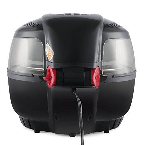 DELLA 1200W Digital Air Fryer 10 Quart Multipurpose Stirrer Rotisserie Oil Less Large Timer & Temperature Controls Roaster, Black by DELLA (Image #4)