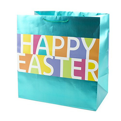 - Hallmark Grand Easter Gift Bag (Color Block, Happy Easter)