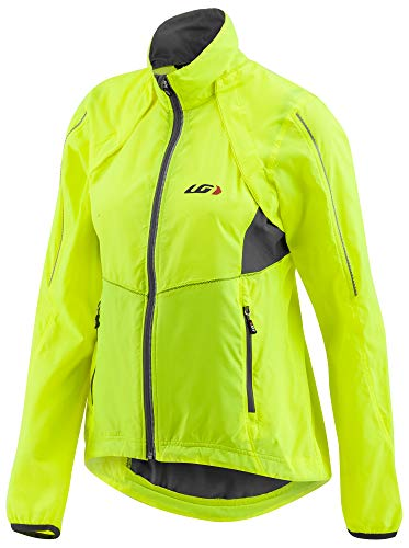 (Louis Garneau Women's Cabriolet Bike Jacket, Bright Yellow,)