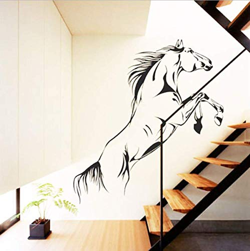 (LJTSDA Pentium of The Horse Big Size Wall Stickers for Living Room Vinyl Decals Decoration Bedroom Art Decor Murals Quotes 42X74Cm)