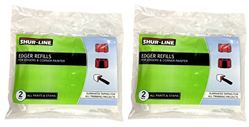 (Shur Line Paint Edger Replacement Pads (2-Pack))