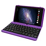 Premium High Performance RCA Voyager Pro 7' 16GB Touchscreen Tablet with Keyboard Case Android 5.0 (Purple)