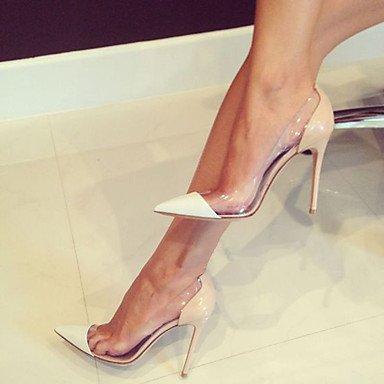 Chaussures LvYuan Verni Femme ggx PVC Habillé Bureau Travail nude Evénement de Cuir Talon Soirée amp; club amp; Talons Aiguille à Chaussures rr6UHqF