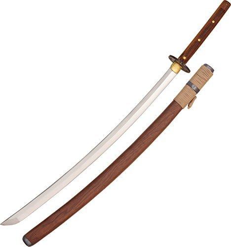 Condor Tool & Knife, Kondoru Katana, 28-3/4in Blade, Wood Handle with Sacabbard