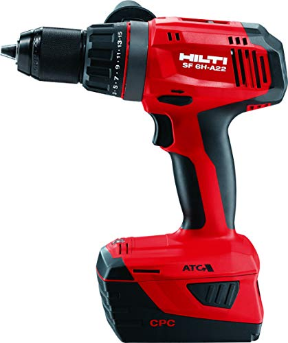 Hilti SF 6H-A22 Lithium-Ion 1/2 in. Cordless Hammer Drill Driver (Tool Body ()