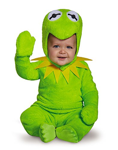 Muppet Halloween Costumes (Kermit Toddler Costume, Small (2T))