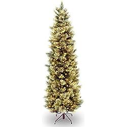 National Tree Carolina Pine Slim Tree, 7.5 Foot
