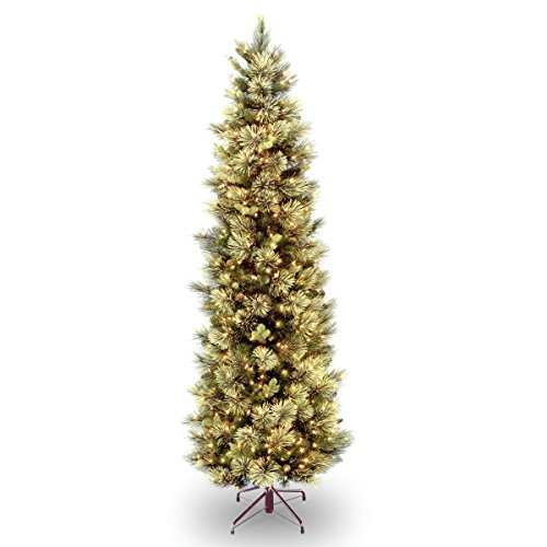 National Tree 7.5 Foot Carolina Pine Slim Tree