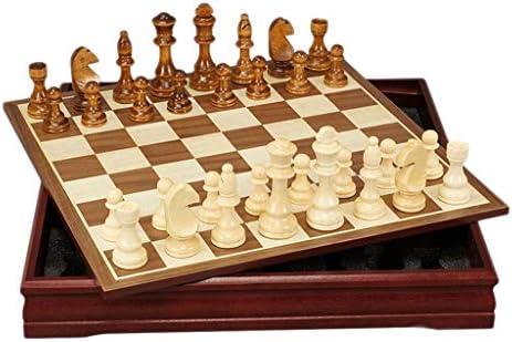 Juegos tradicionales Ajedrez Ajedrez Tablero de ajedrez de madera ...