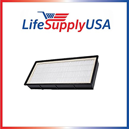 LifeSupplyUSA 4 Pack Replacement HEPA Filter Fits N Honeywell Air Purifier Models: HPA-245 Series, HPA-248-TGT, HPA-249 Series, HHT-145 and HHT-149 Includes 2 Filters