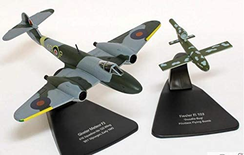 OXFORD 1/72 完成品 Gloster Meteor F3 616 Squadron No.122 Wing B91 N