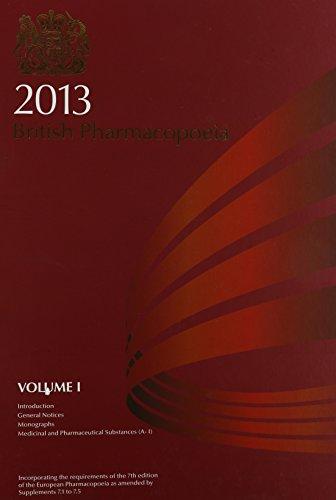 British Pharmacopoeia 2013 by British Pharmacopoeia Commission