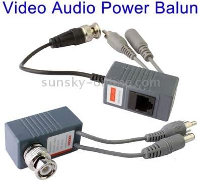 持ち運びが簡単 CCTVビデオ/オーディオ/パワーバラントランシーバケーブル