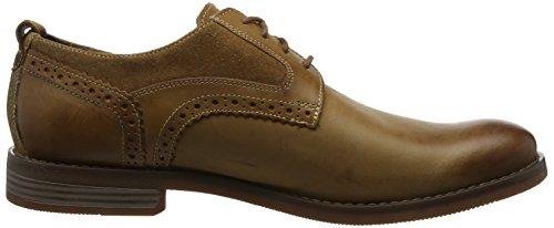 Rockport Wynstin Plain Toe Shoe, Scarpe Stringate Oxford Uomo Marrone (Tobacco 001)