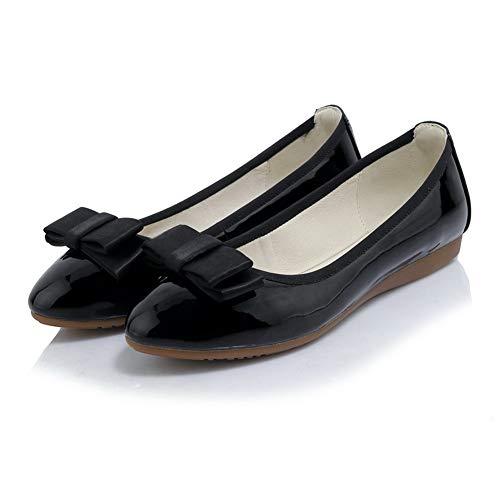 36 5 Femme Compensées BalaMasa Sandales Noir APL10806 Noir wYpTf