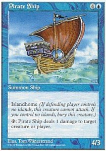 Magic: the Gathering - Pirate Ship - Fifth Edition